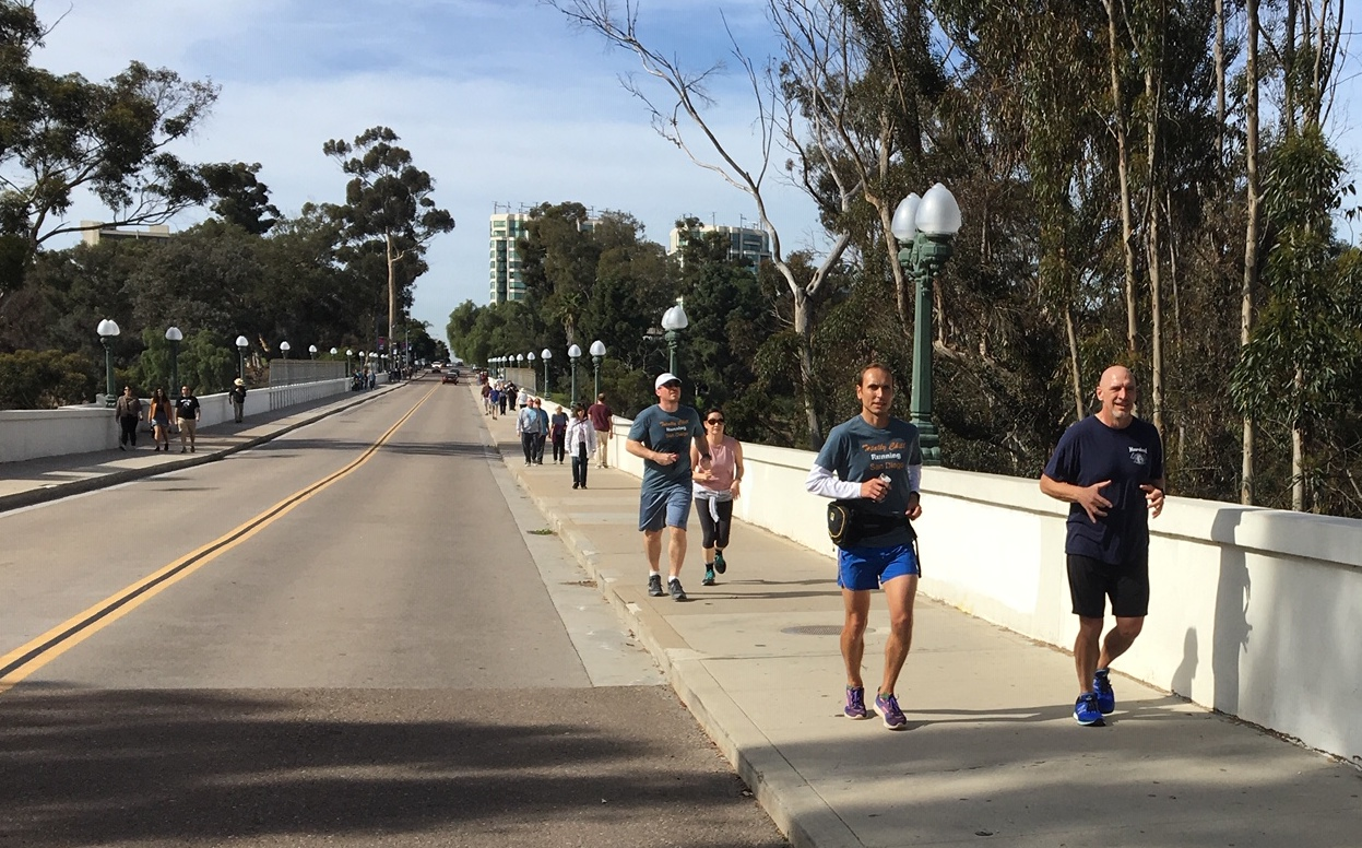 Best places to run San Diego in Balboa Park