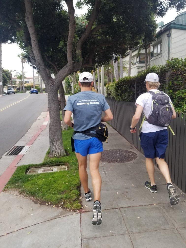 running tour La Jolla